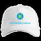 Кепка с логотипом Karbo (белая)