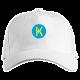 Кепка с логотипом Karbo lite (белая)